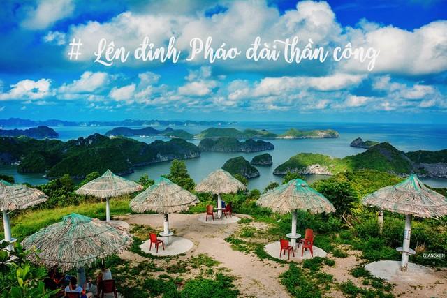Пик острова Кат Ба