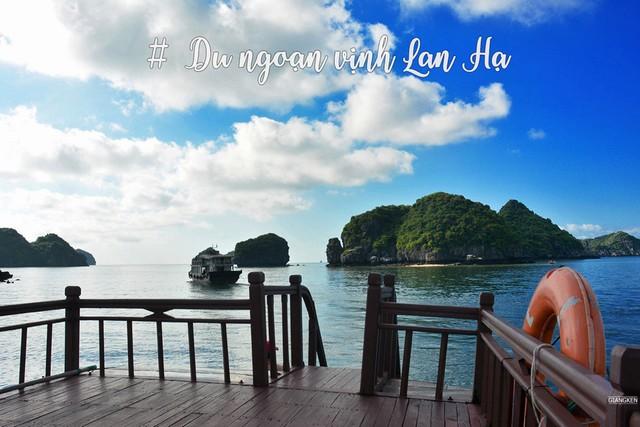 exursion of Lan Ha bay around Cat ba island