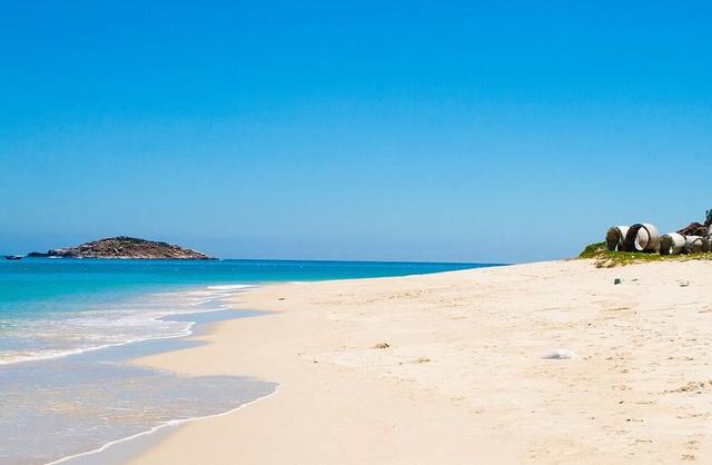 pristine beach of Binh Tien