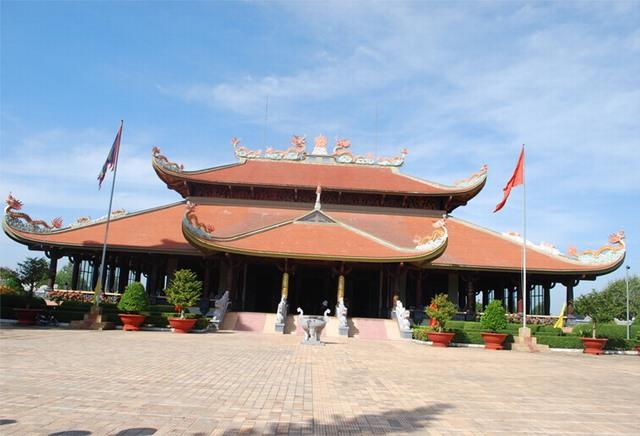 Ben Duoc l'architecture de style ancien temple Vietnam