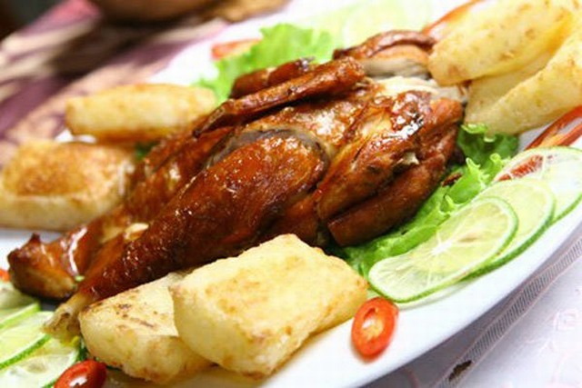 Chicken sticky rice - Binh Duong