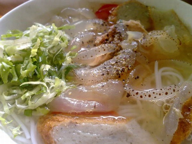 วุ้นก๋วยเตี๋ยวปลา - Nha Trang