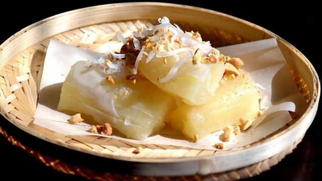 pommes de terre cuites à tunnels de Cu Chi
