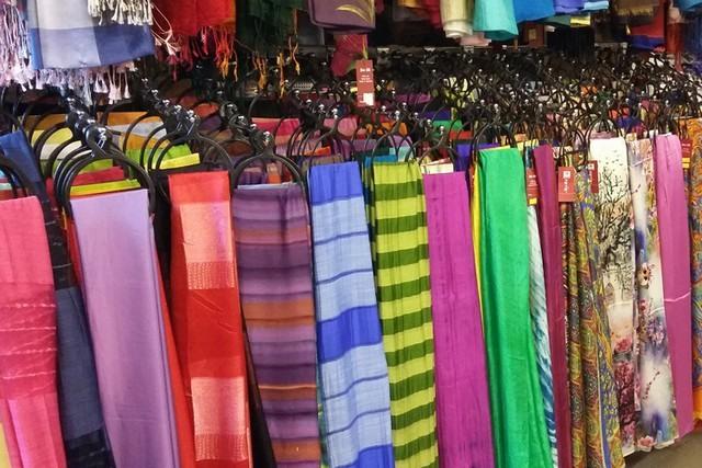 与丝绸产品店