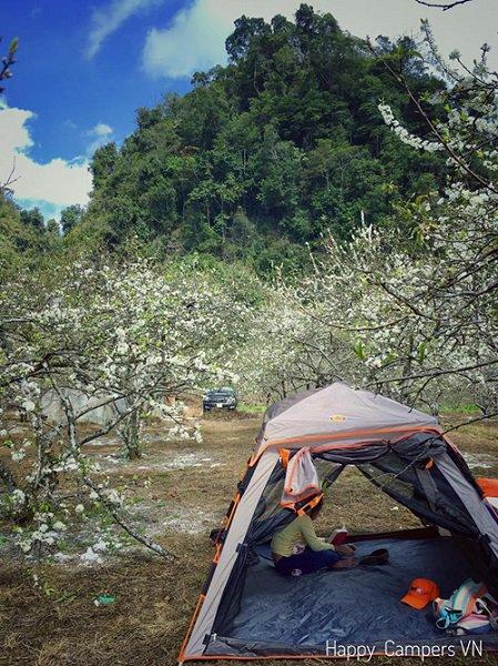 camping in Moc Chau