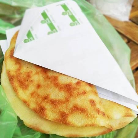 香脆煎饼榴莲