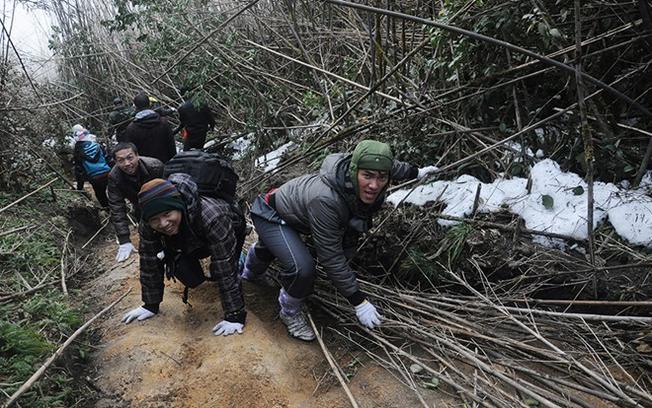 黄连山高峰将是你一个很大的障碍,如果天气不利于