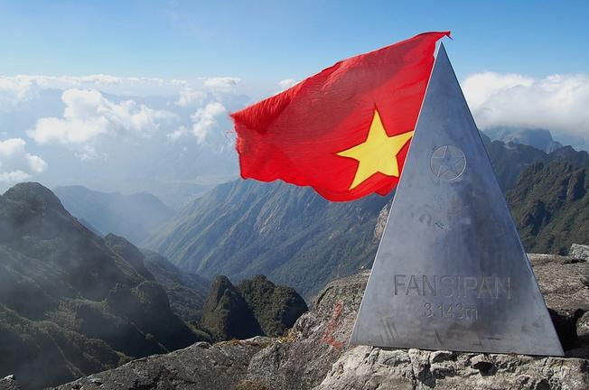 Fansipan with the height of 3143m, is the roof of Vietnam