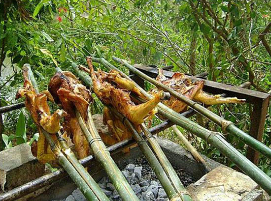 Grilled chicken in Don Village