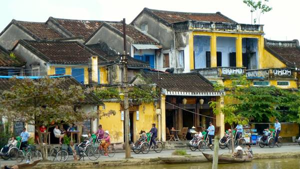 By the riverside in Hoi An