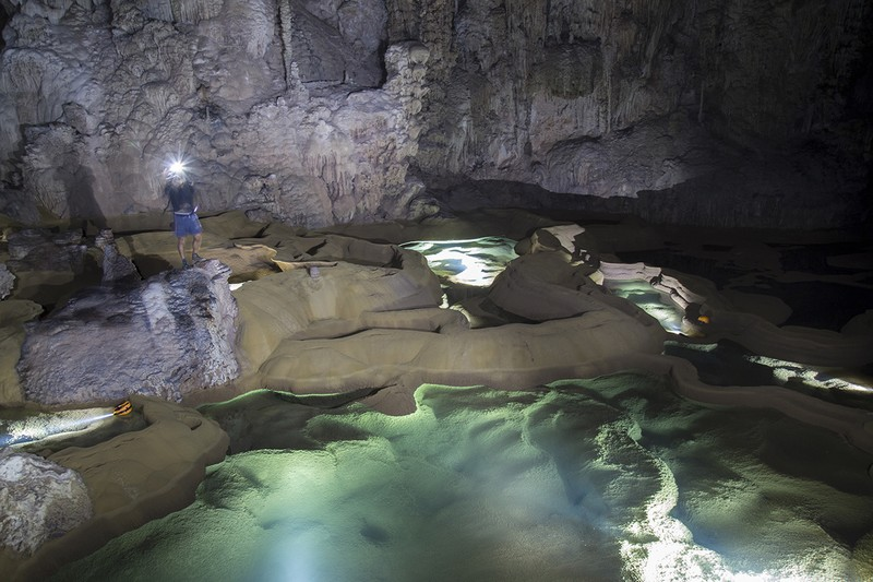 จังหวัด Quang Binh เปิดสามถ้ำใหม่เพื่อวัตถุประสงค์ในการท่องเที่ยว
