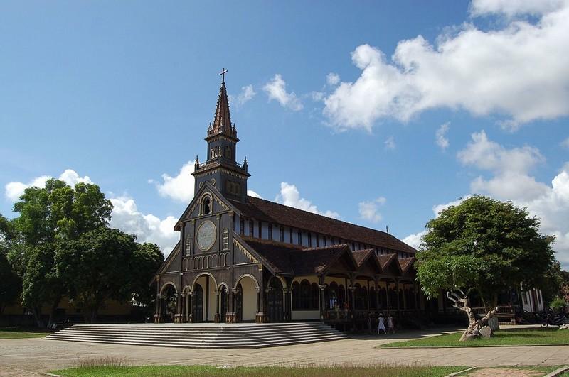 Wooden Church - Roman Catholic Diocese of Kon Tum