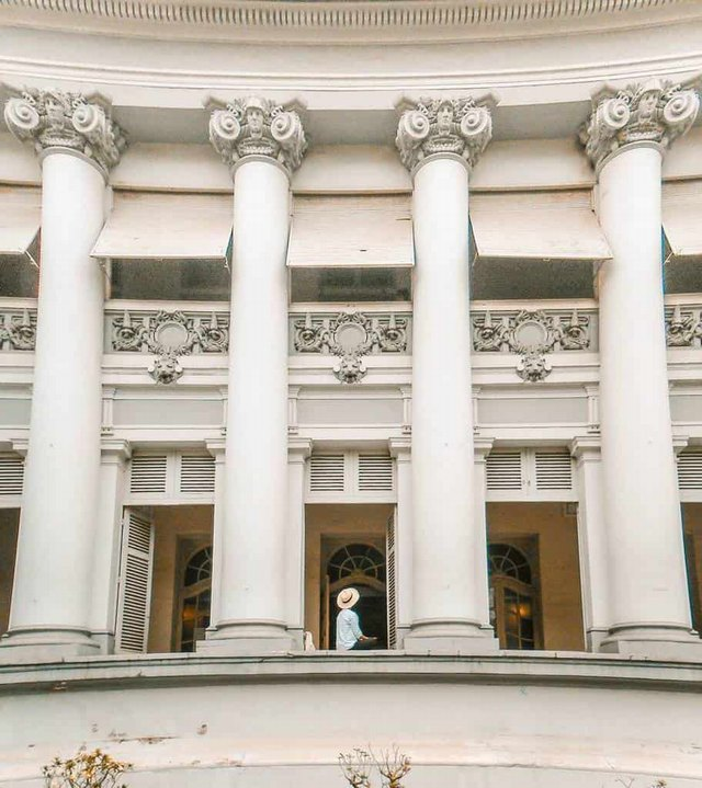 European architecture of Ho Chi Minh City Museum @thuyenhello