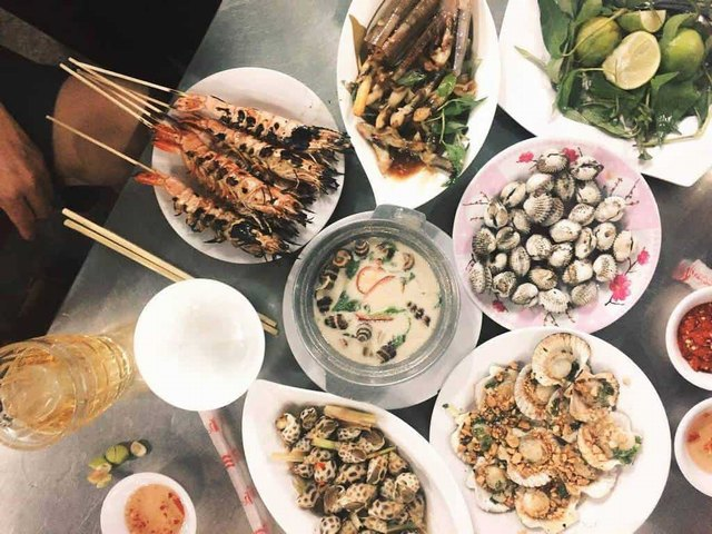 Snails - Fascinating dishes that Saigon people love @trickdvddy