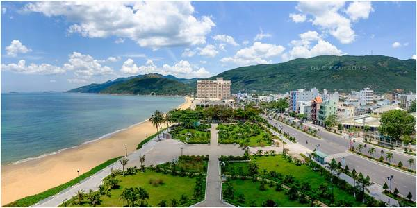 A corner of Quy Nhon city from high spot