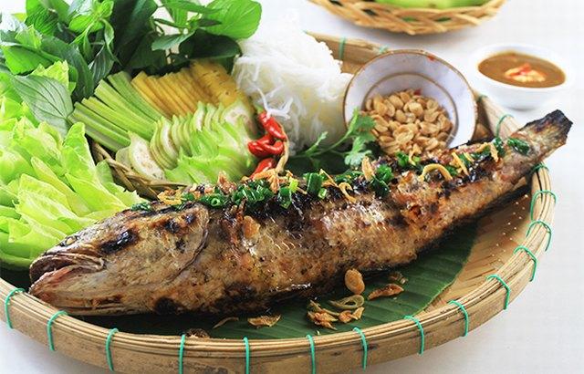Delicious snakehead fish
