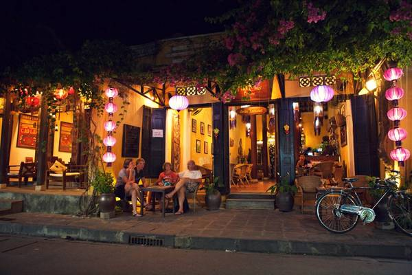 Hoi An - great space to relax. Picture bizlive