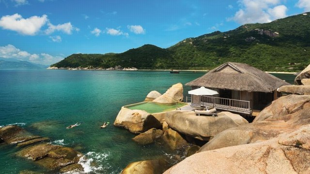 Ninh Van Bay is pristine and romantic