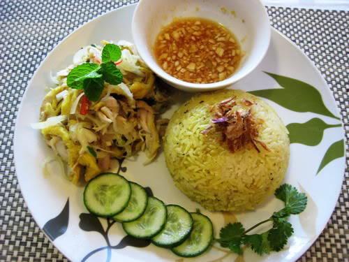 Pho Hoi riz au poulet