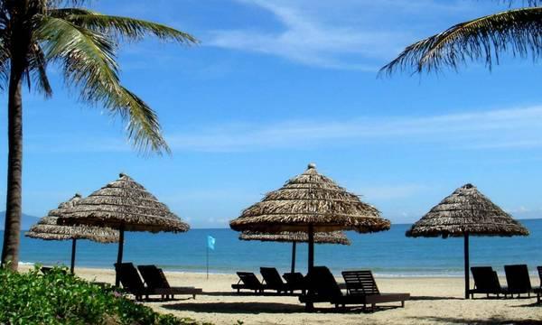 La beauté de la plage de Cua Dai