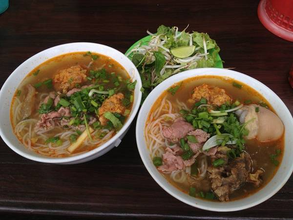 Hue-style beef vermicelli soup