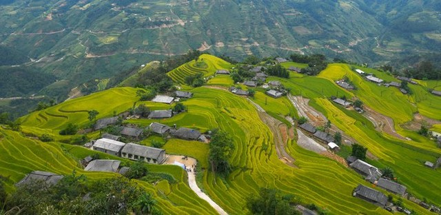 In 2012, the Hoang Su Phi terraced field was officially recognized by the Ministry of Culture, Sports and Tourism as a National Monument.
