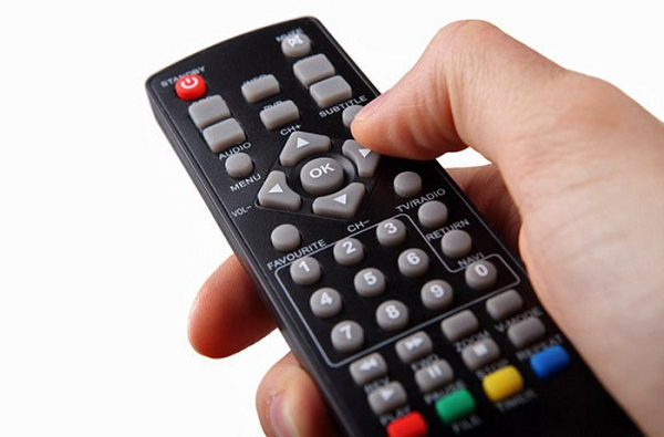 Limit using of TV remote control