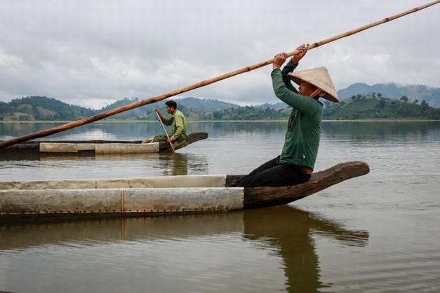 Taking a dugout canoe