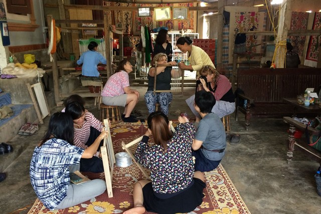 Experience at a weaving workshop