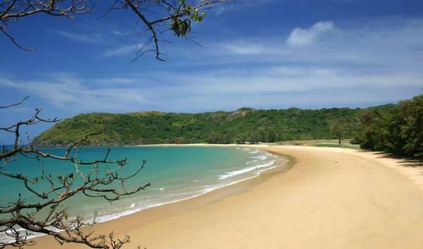 Pristine beach of Con Dao