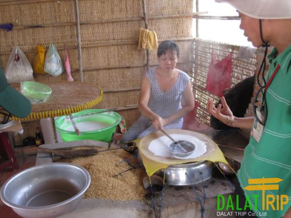 Rice Paper Making