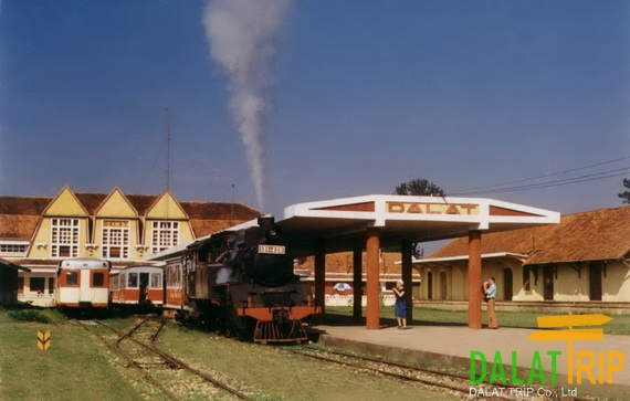 Ancient Dalat Railway Station