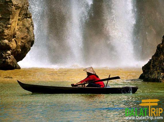Also called Bao Dai Waterfall
