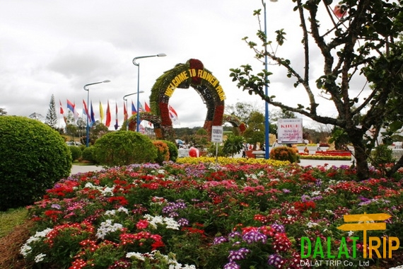 Dalat Flower Garden Gate