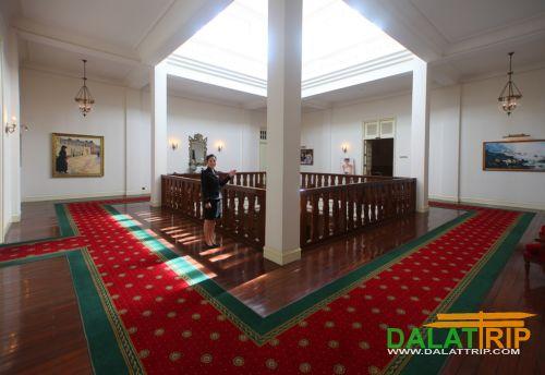Dalat Palace Hallway