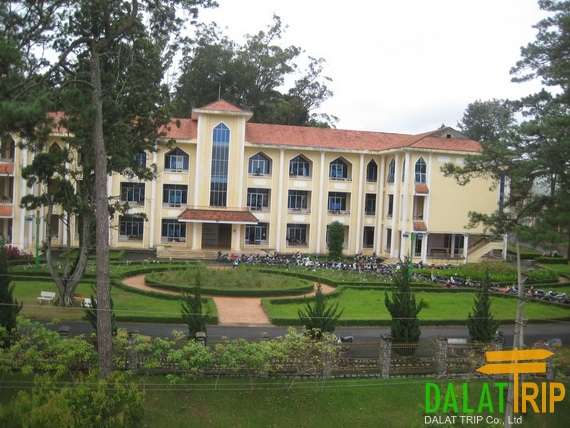 A27 hall of Dalat University