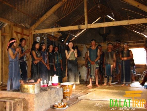 Lat people in Dalat