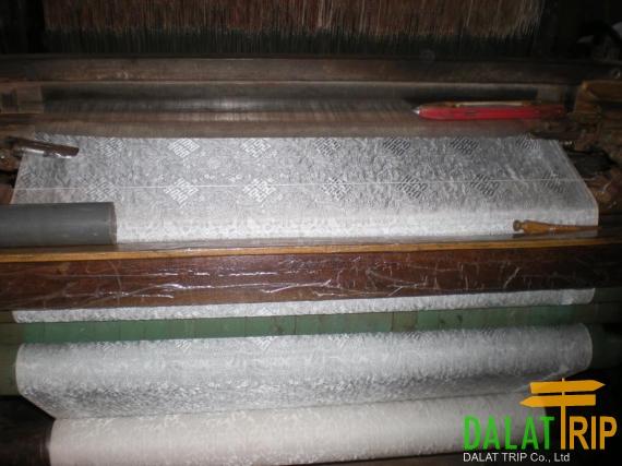 Silk weaving factory