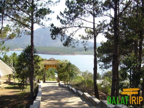 Truc Lam Zen Monastery Gate