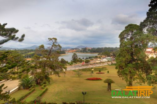 View from Dalat Palace Hotel