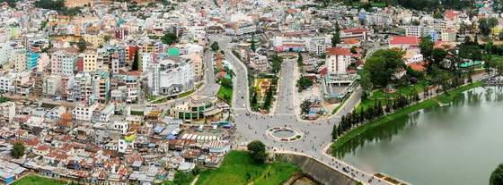 The ways to Dalat city
