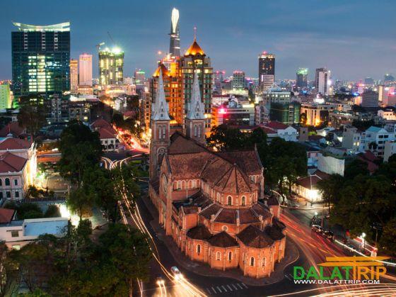 Dalat - Ho Chi Minh ville transport