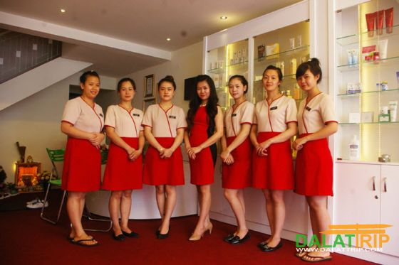 Spa, massage, beauty salon in Dalat