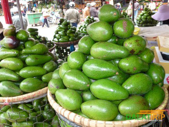 Avocados at Dalat market