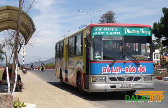 The city bus of Dalat