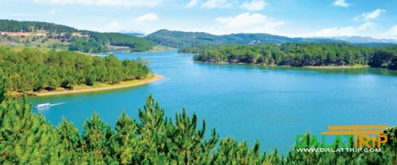 越南大叻天堂湖