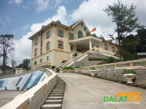 The National Archives Centre IV in Da Lat City - Tran Le Xuan villa