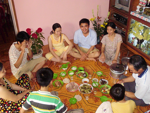 The Daily Meals of Vietnamese Families