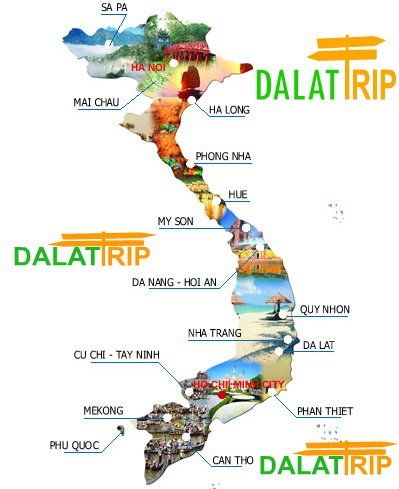 DALAT - NHA TRANG - MUI NE TOUR PACKAGE (5 Days 4 Nights)