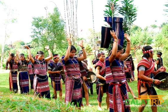 Cultural beauty in Bok Bơ Mung Festival of Chu Ru ethnic group